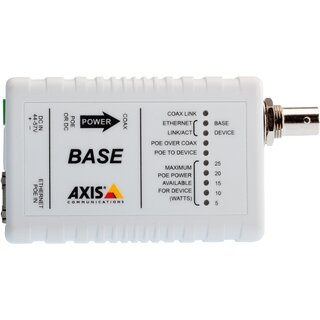 AXIS T8640 POE+ OVER COAX KIT Medienkonverter